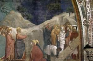 Jesus raising Lazarus John 11