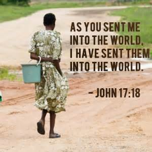 Sent into the world - John 17-18