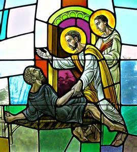 Peter healing lame man - Acts 3-6