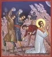 Stephen stoning Acts 7