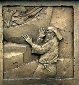 Acts 10 Peter's Vision bas relief