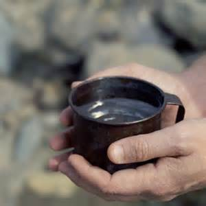 Mark 9-41 cup of cold water, photo