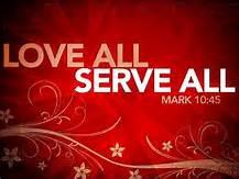 Mark 10-45 serve all