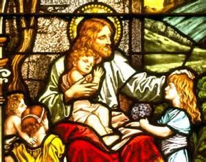 Mark 10 Jesus blesses the children