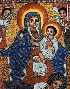 Virgin Mary and Child - Russian Orthodox