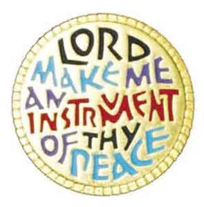instrument of Your peace, round