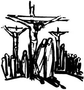 crucifixion sketch
