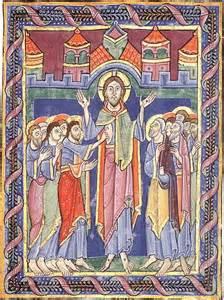 resurrection Jesus - medieval manuscript