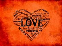 LOVE hear word cloud