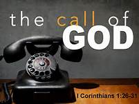 call of God 1 Cor 1