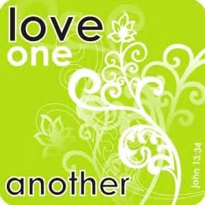 John 13-34 love one another, swirls