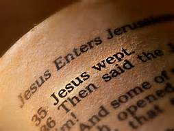 John 11-35 Jesus wept, bible