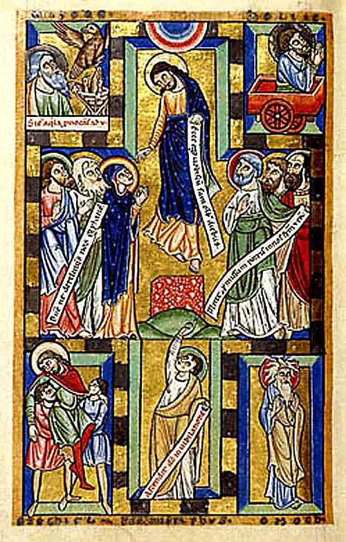 Acts 1-9 Ascension ENLUMINURES HILDERSHEIM