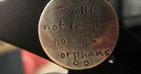 John 14-18 not leave you, coin
