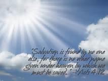 Acts 4-12 salvation, sun