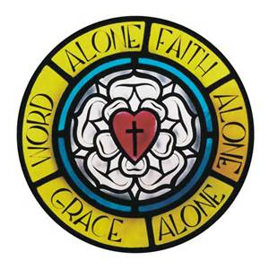 sola gratia, scriptura, fide - Lutheran