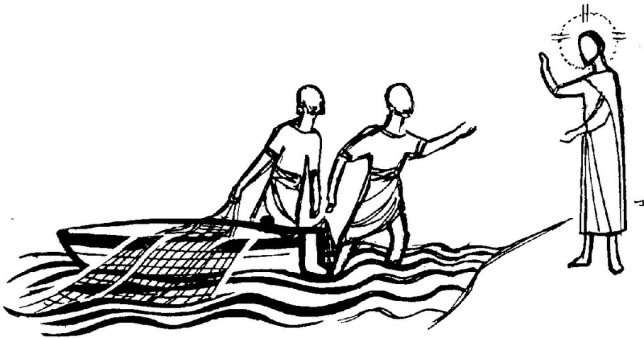 Mark 1-17 fishers of people