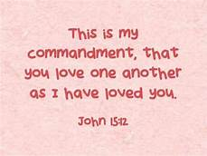 John 15-12 love one another, words