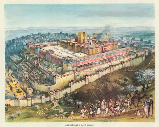 King Solomon's Temple at Jerusalem