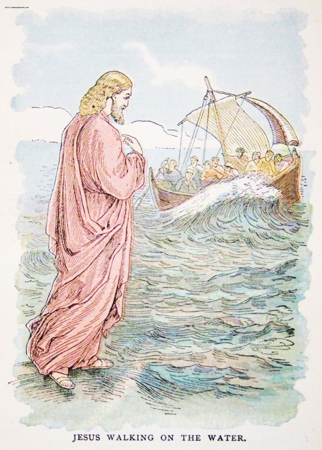 Mark 6-50 jesuswalkingonthewater