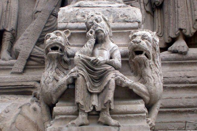 Dan 6 Daniel with lions