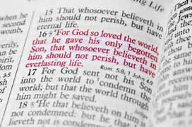 John 3-16 so loved, bible