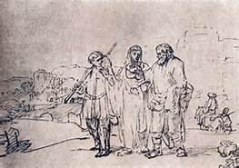 Luke 24 road-to-emmaus-rembrandt
