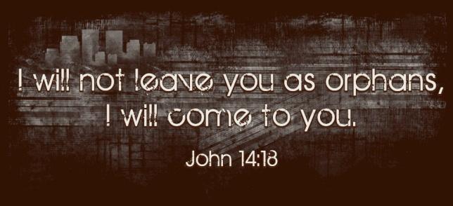 John 14-18 not leave you