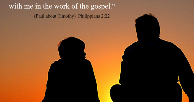 Phil 2-20 work of the Gospel